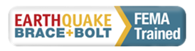 Inage of Eathquake Brace and Blolt Logo