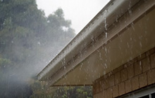 Image of Rain on Gutters